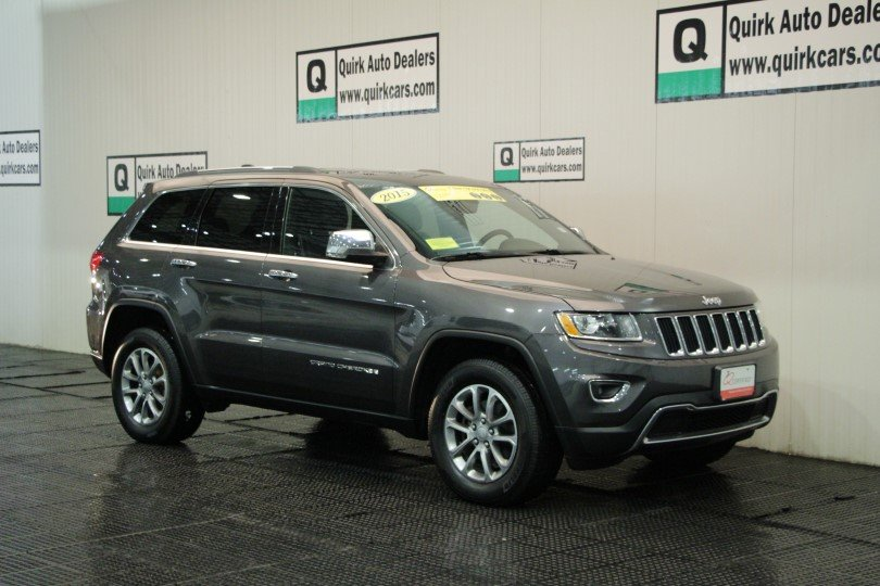Certified Pre Owned 2015 Jeep Grand Cherokee Limited In Quincy 8037