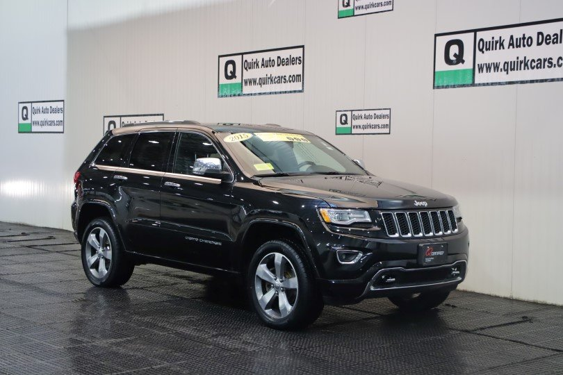 Certified Pre Owned 2015 Jeep Grand Cherokee Overland In Quincy