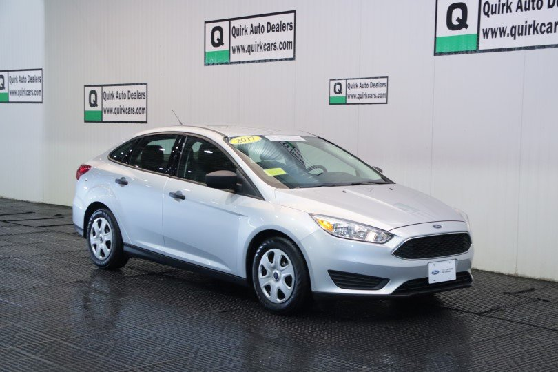 Certified Pre-Owned 2017 Ford Focus S