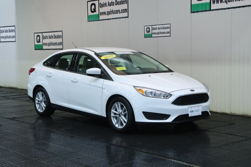 Pre-Owned 2018 Ford Focus SE