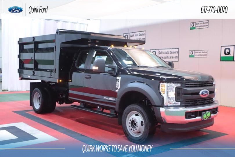 New 2019 Ford F-550 DRW XL RUGBY 9' STANDARD DUTY STAKELESS LANDSCAPER BODY