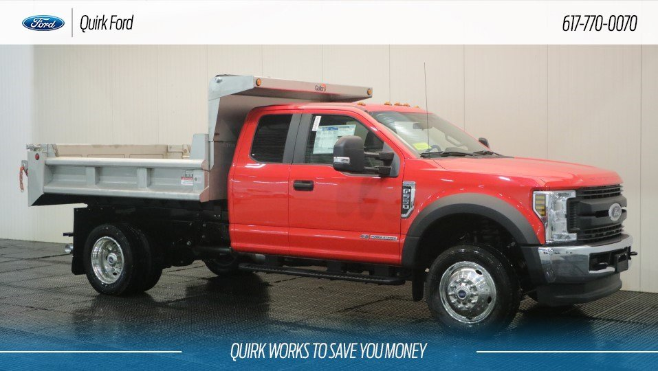 2018 Ford F550 DRW XL 9' GALION STAINLESS STEEL DUMP BODY 4WD