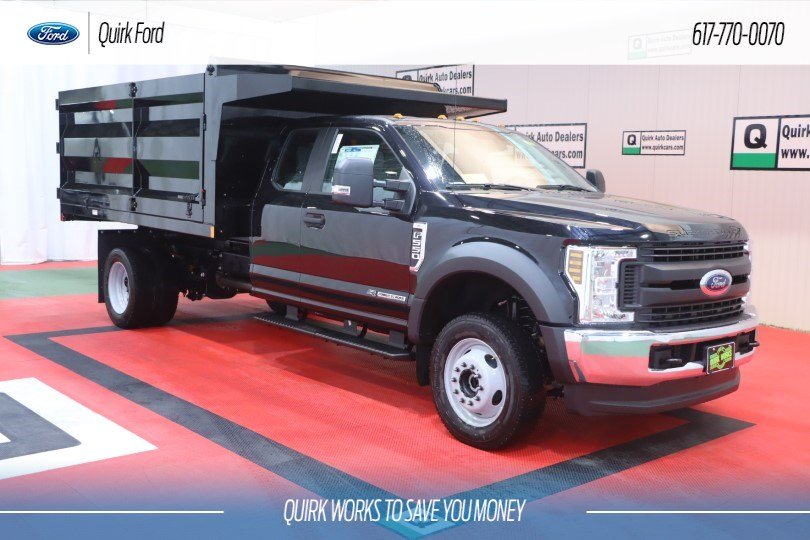 New 2019 Ford F-550 DRW XL RUGBY 12' STANDARD DUTY STAKELESS LANDSCAPER BODY