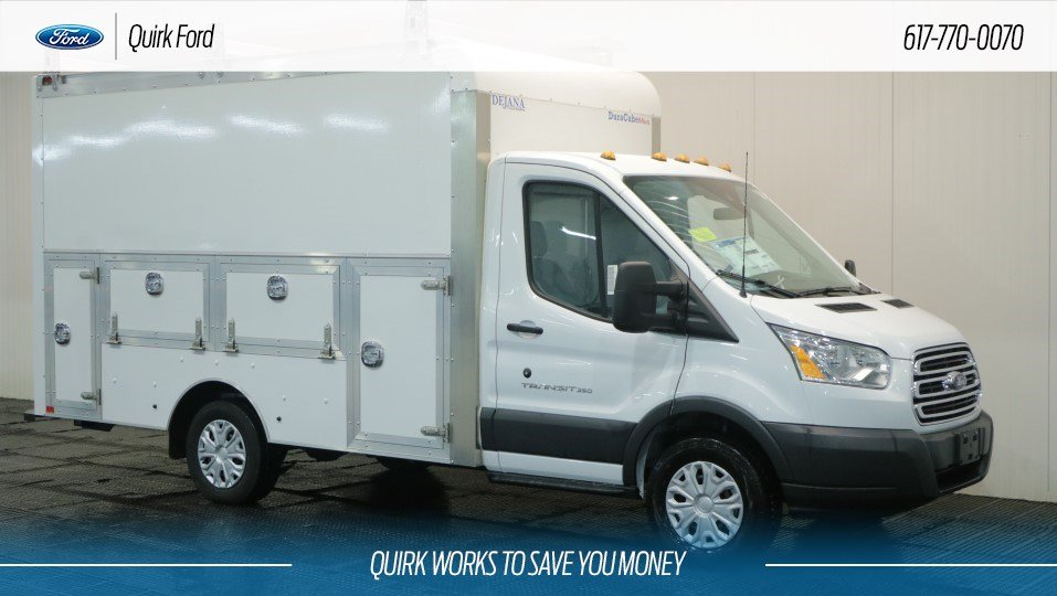 New 2018 Ford Transit 350 Cutaway In Quincy F108332 Quirk Ford