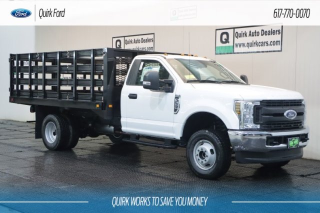 2019 Ford F550 XL 12' KNAPHEIDE VALUE-MASTER-X PLATFORM BODY 4WD