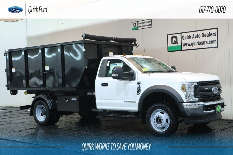 New 2019 Ford F-550 DRW XL 11' DROP BOX SWITCH N' GO