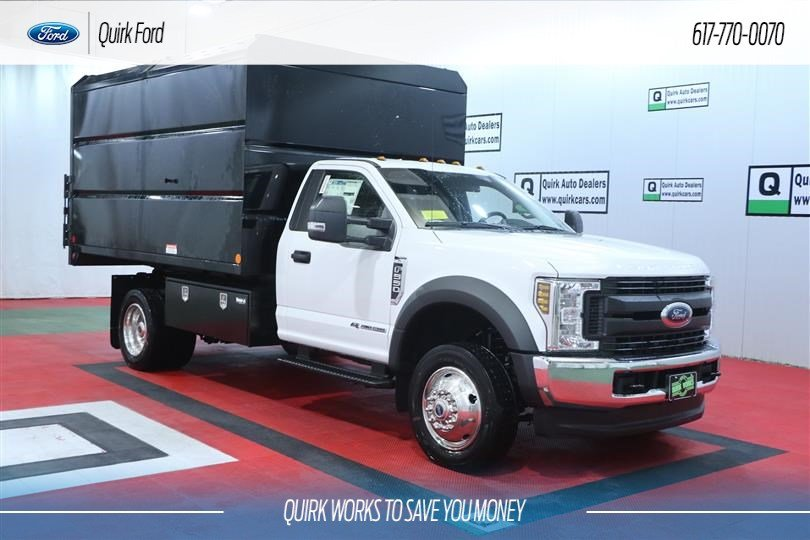 New 2019 Ford F-550 DRW XL 12' IROQUOIS CHIPPER BODY
