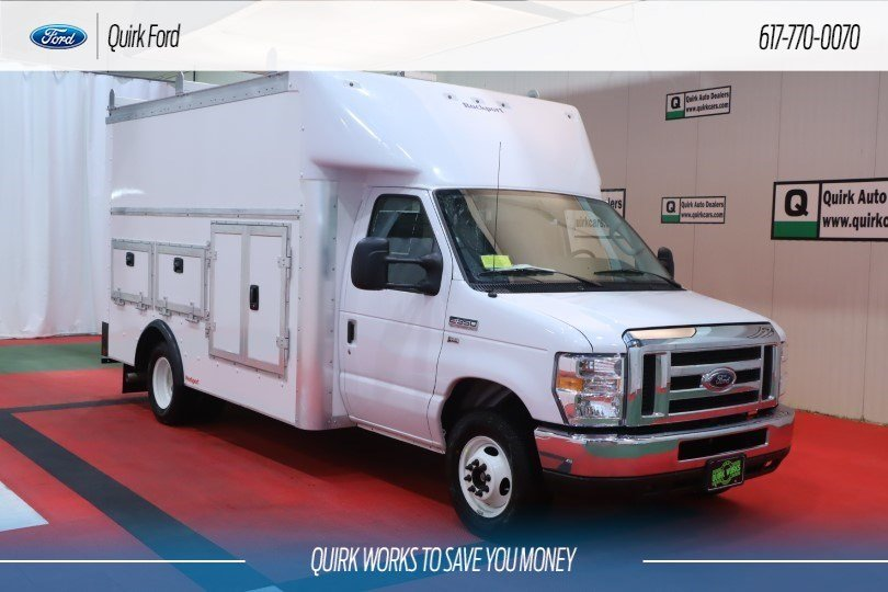 New 2019 Ford Cutaway E-350 DRW 12' Workport Body