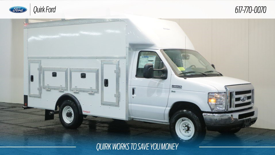 New 2018 Ford E-350 SRW Cutaway 12' WORKPORT BODY