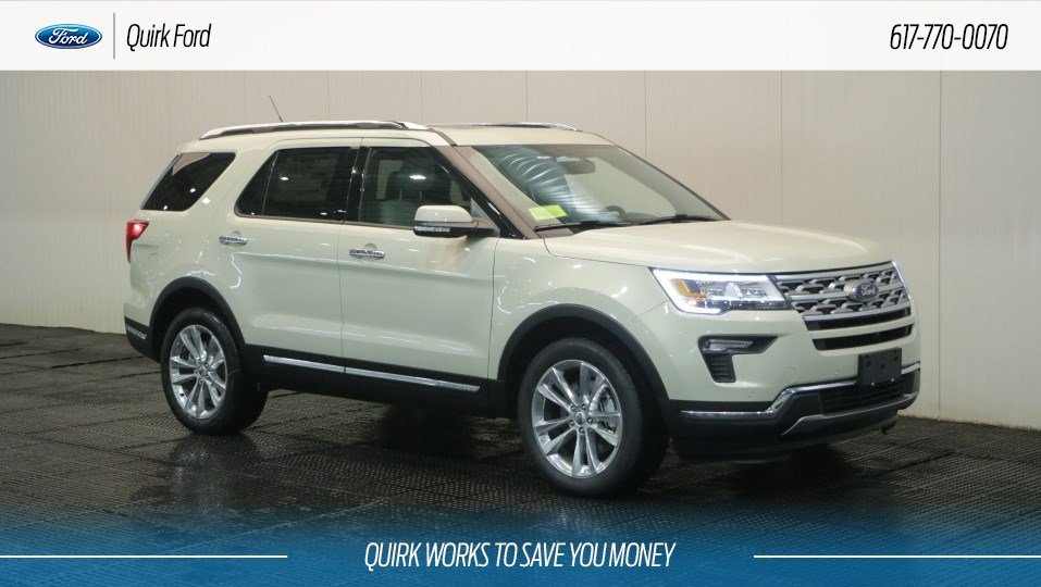 Ford Explorer Limited >> New 2018 Ford Explorer Limited In Quincy F108988 Quirk Ford
