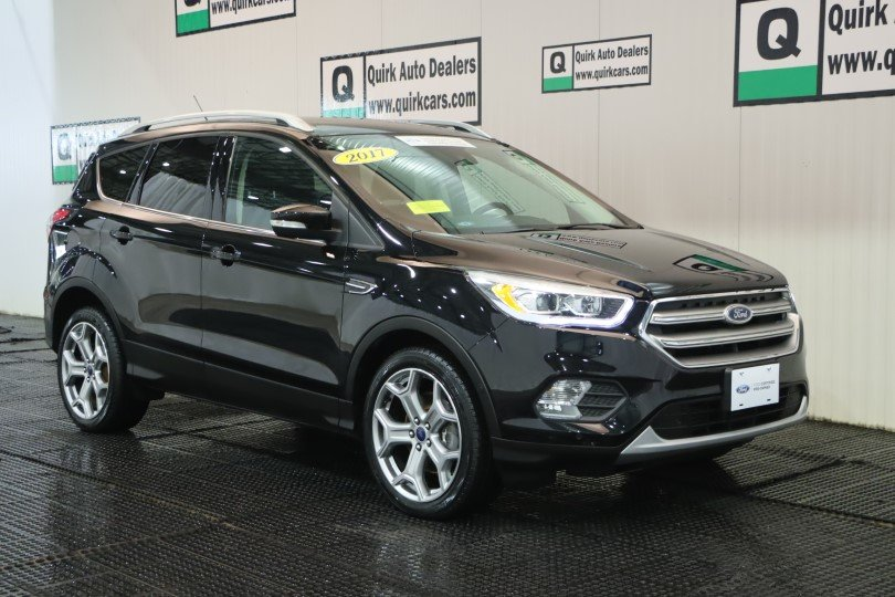 Certified Pre-Owned 2017 Ford Escape Titanium 4WD