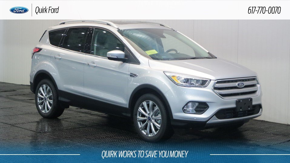Ford Escape Titanium >> New 2018 Ford Escape Titanium In Quincy F108851 Quirk Ford