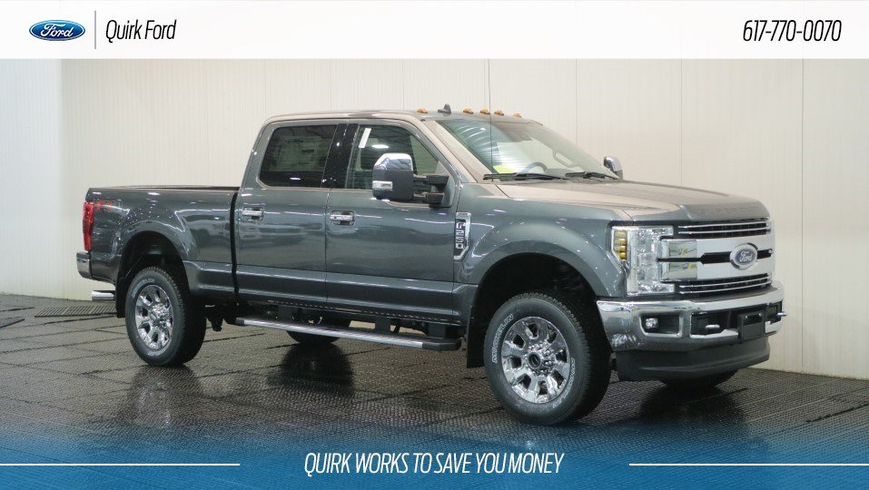 Ford Super Duty >> New 2019 Ford Super Duty F 250 Srw Lariat In Quincy F109123 Quirk