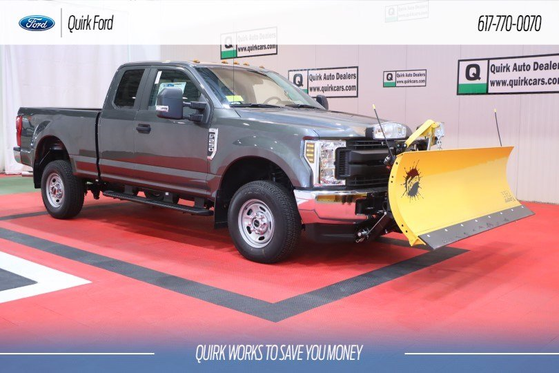 New 2019 Ford Super Duty F-250 SRW XL w/8FT FISHER PLOW