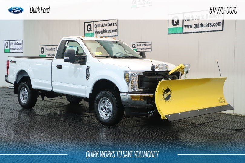 New 2019 Ford Super Duty F-250 SRW XL 8FT FISHER PLOW