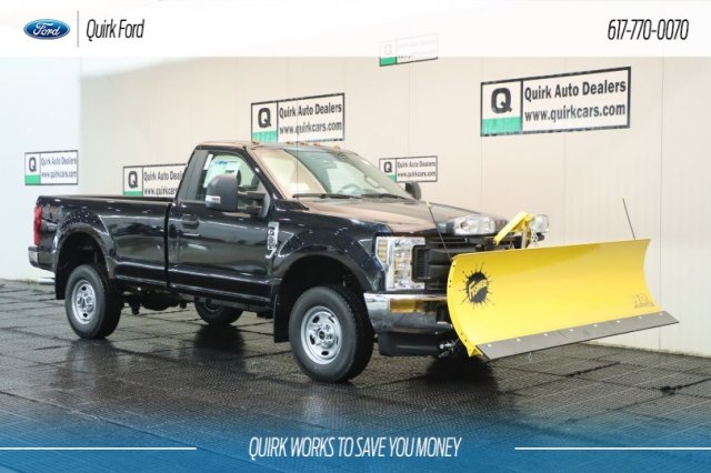 2019 Ford F250 XL 8FT FISHER PLOW 4WD