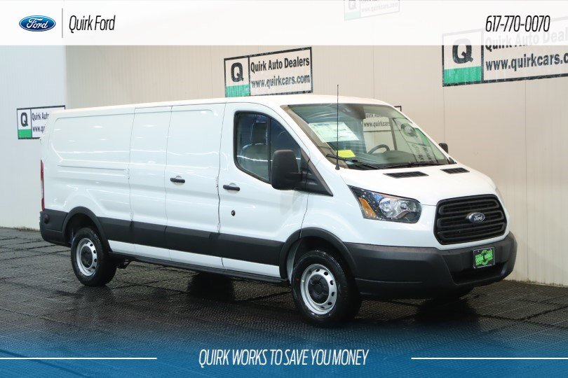 New 2019 Ford Transit Van Base w/60/40 Pass-Side Cargo Doors RWD