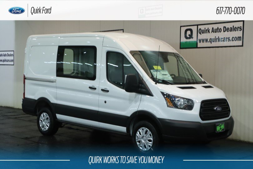 New 2019 Ford Transit Van Base w/Sliding Pass-Side Cargo Door w/ Ranger Package and Partition