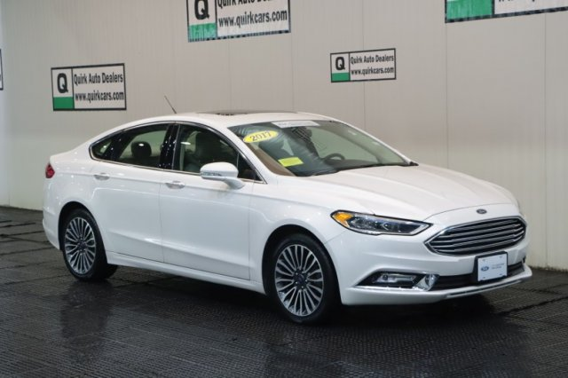Certified Pre-Owned 2017 Ford Fusion SE AWD