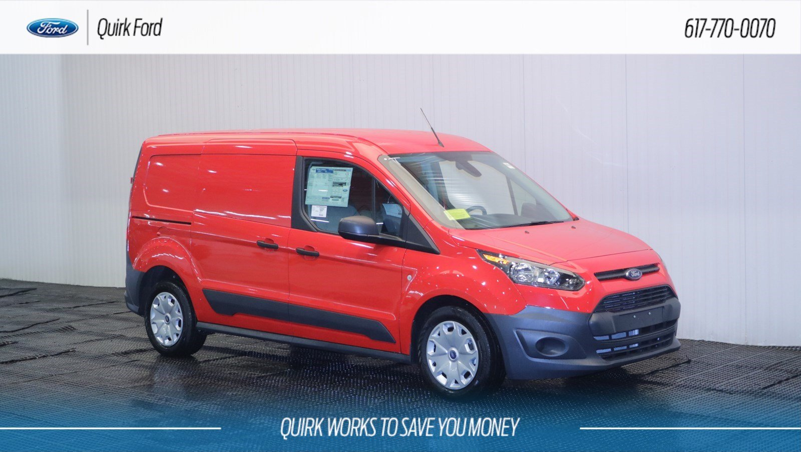 New 2018 Ford Transit Connect Xl Cargo Van In Quincy F108094