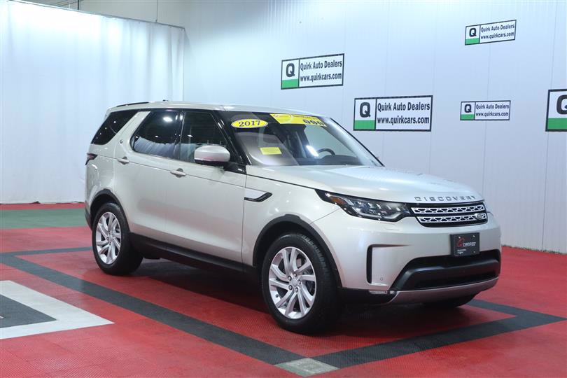 Certified Pre-Owned 2017 Land Rover Discovery HSE AWD