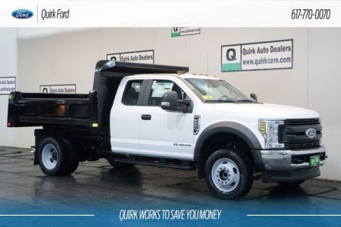 New 2019 Ford F-550 DRW XL 9' RUGBY ELIMINATOR DUMP BODY