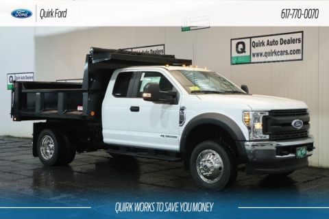 New 2018 Ford F-550 DRW XL 9' IROQUOIS DUMP BODY