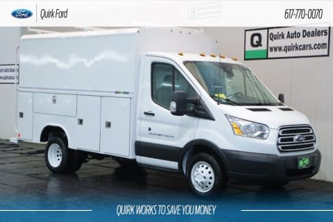 New 2019 Ford Transit Cutaway W/ READING ALUMINUM SERVICE BODY