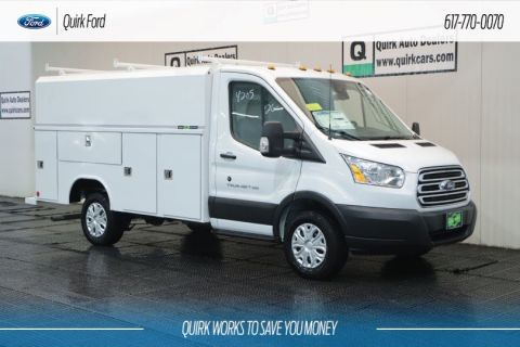 New 2019 Ford Transit Cutaway READING ALUMINUM SERVICE BODY
