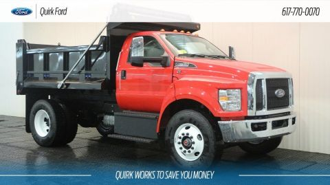 New 2019 Ford F-650 10' GALION DUMP BODY
