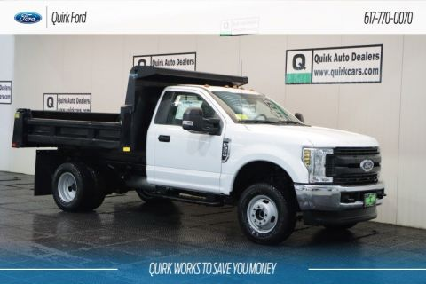 New 2019 Ford F-350 DRW RUGBY 9' ELIMINATOR DUMP BODY,