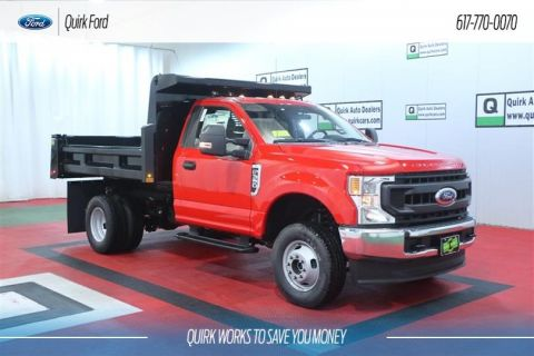 New 2020 Ford F-350 DRW XL RUGBY 9' 2-3 YARD ELIMINATOR LP DUMP BODY