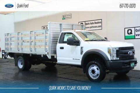 New 2019 Ford F-550 DRW XL 7.92' HD TRUCK BED