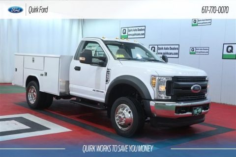 New 2019 Ford F-550 DRW XL Service Utility Body