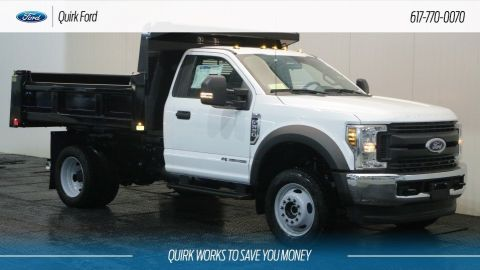 New 2019 Ford F-550 DRW XL 9' RUGBY ELIMINATOR LP DUMP