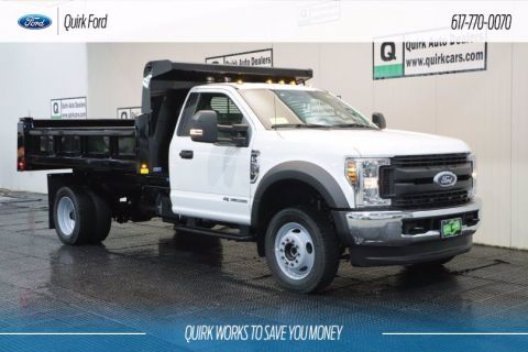 New 2019 Ford F-550 DRW XL RUGBY 11' 3-4 YARD ELIMINATOR LP DUMP BODY,