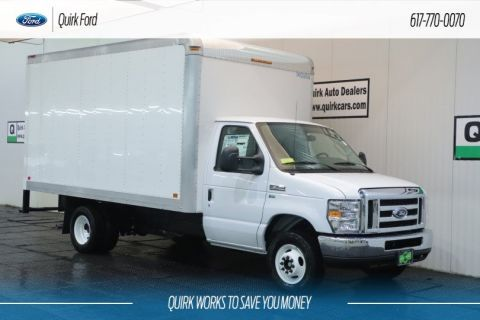 New 2019 Ford E-Series Cutaway 14' DURACUBE BOX BODY