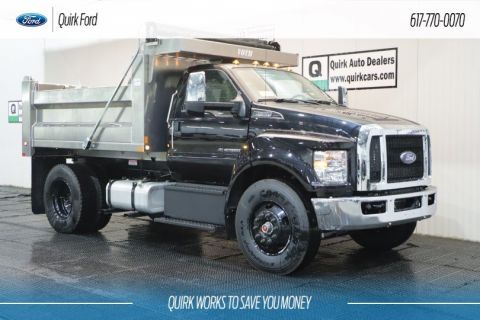 New 2019 Ford F-650 Diesel 10' VOTH ALUMINUM DUMP BODY