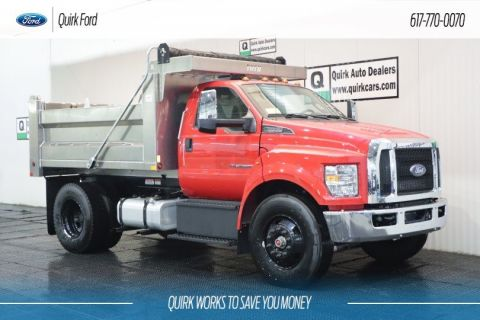 New 2019 Ford F-650 Diesel Straight Frame 10' VOTH ALUMINUM DUMP BODY