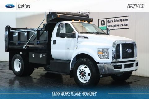 New 2019 Ford F-650 Diesel Straight Frame 10' Galion Dump Body