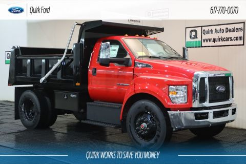 New 2019 Ford F-650 Diesel Base RUGBY 10' 5-7 YARD TITAN DUMP BODY