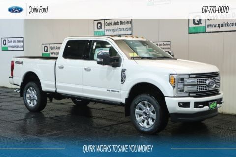 New 2019 Ford Super Duty F-350 SRW Platinum