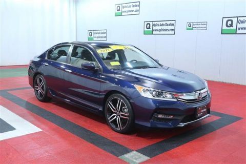 Certified Pre-Owned 2017 Honda Accord Sedan Sport CVT